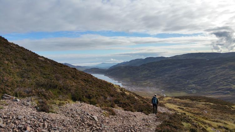 Loch Freuchie To Glen Lednock