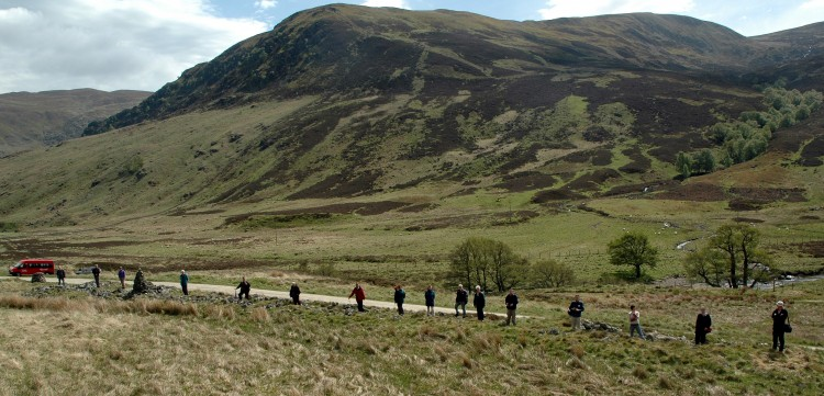 Walking With The Archaeologist Through The Sma' Glen