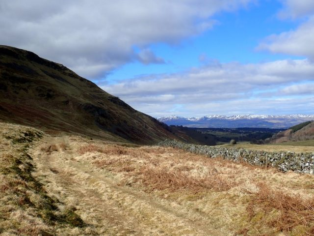 Across The Ochils – Gleneagles To Tillicoultry